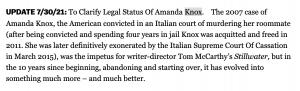 Matt Damon Stillwater Amanda Knox
