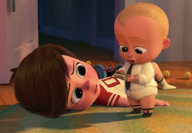 Boss Baby Family Business SCAD panel
