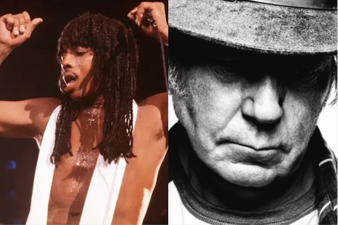 Rick James and Neil Young band The Mynah Birds