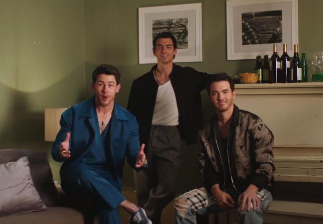 Jonas Brothers roast netflix succession rust