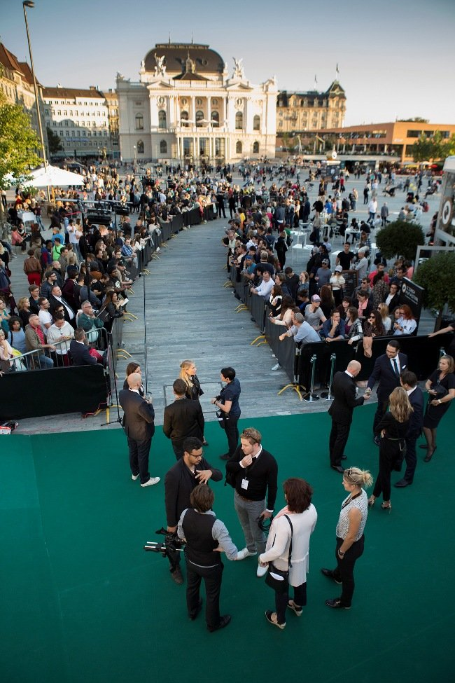 Zurich Film Festival's uniquely green carpet
