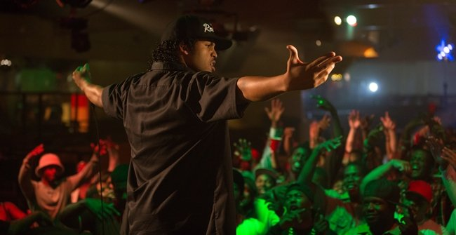 O'Shea Jackson as Ice Cube in Straight Outta Compton