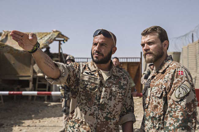 Dar Salim and Pilou Asbæk in A WAR. Courtesy of Magnolia Pictures