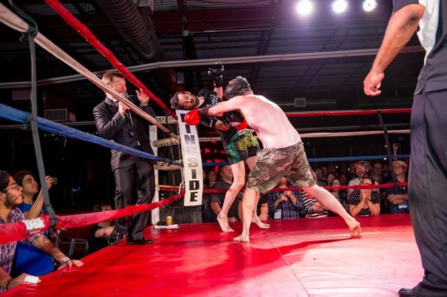 Fantastic Fest's boxing matches are the stuff of you-had-to-be-there legend. Photograph by David Hill