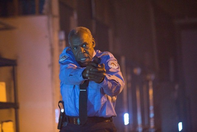 Glover in a still from Gridlocked