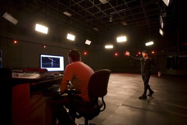 A motion capture studio at the Florida Interactive Entertainment Academy. Courtesy of University of Central Florida