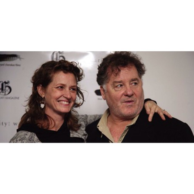 The amazing talent of THE SEA IS ALL I KNOW. The incredible #MelissaLeo and the sublime #PeterGerety at the 1st reading and fundraiser for the #film where they just killed it. What a journey it has been.
