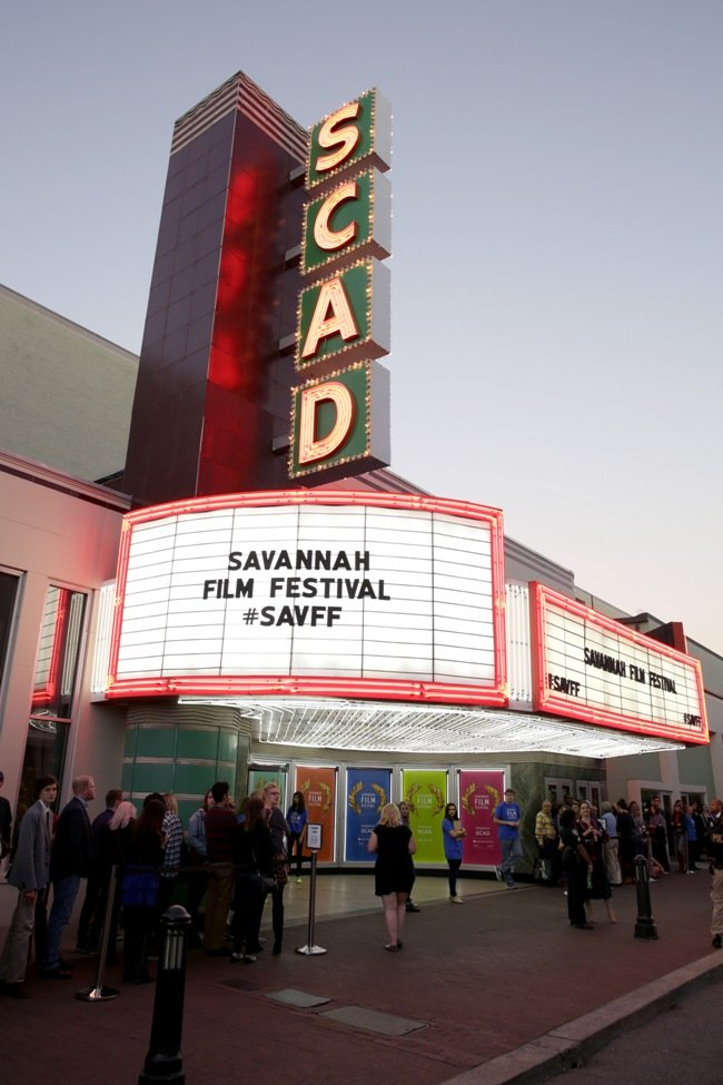 The Trustees Theatre venue at the Savannah Film Festival