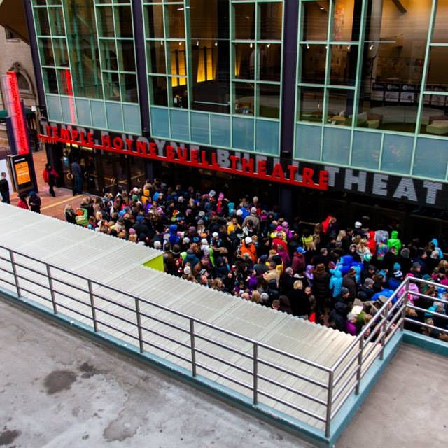 Crowds line up for a special screening at the Temple Buell Theatre for SDFF37 #sdff37 #denverfilm #denver #filmfest #filmmaking #movie @denverfilm #templebuelltheatre