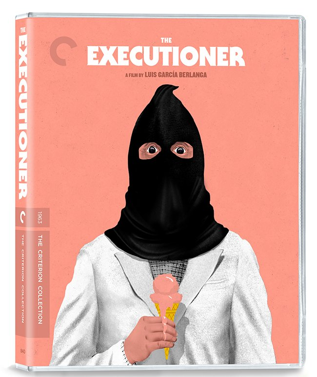 Artist Brian Stauffer uses his imagination to conjure some color using the ominous executioner's mask in juxtaposition against the innocence of an ice cream cone.
