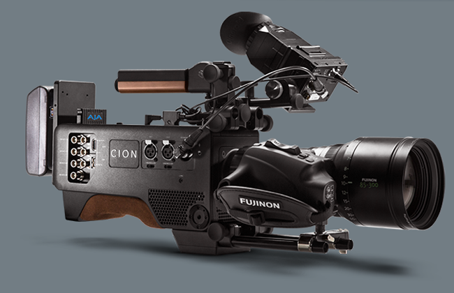 AJA's Cion, available for purchase starting this summer. Courtesy of AJA Video Systems.