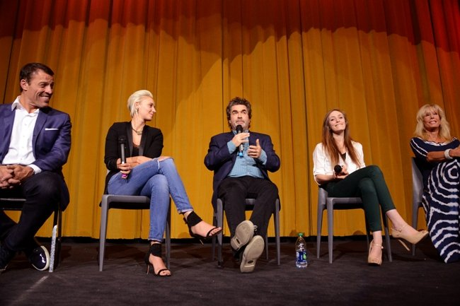 Panelists at the 2016 American Documentary Film Festival in Palm Springs. Courtesy of the American Documentary Film Festival
