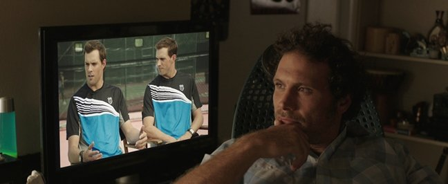 Real-life champion doubles team the Bryan brothers make a cameo in Break Point