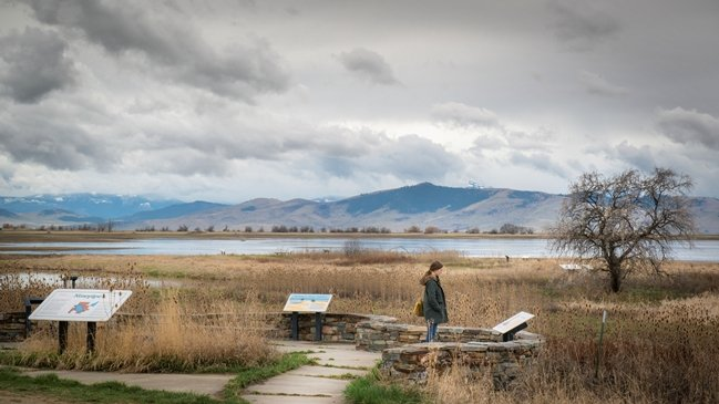 The beautiful landscape of Missoula, Montana, as captured in Vera Brunner-Sung's Bella Vista