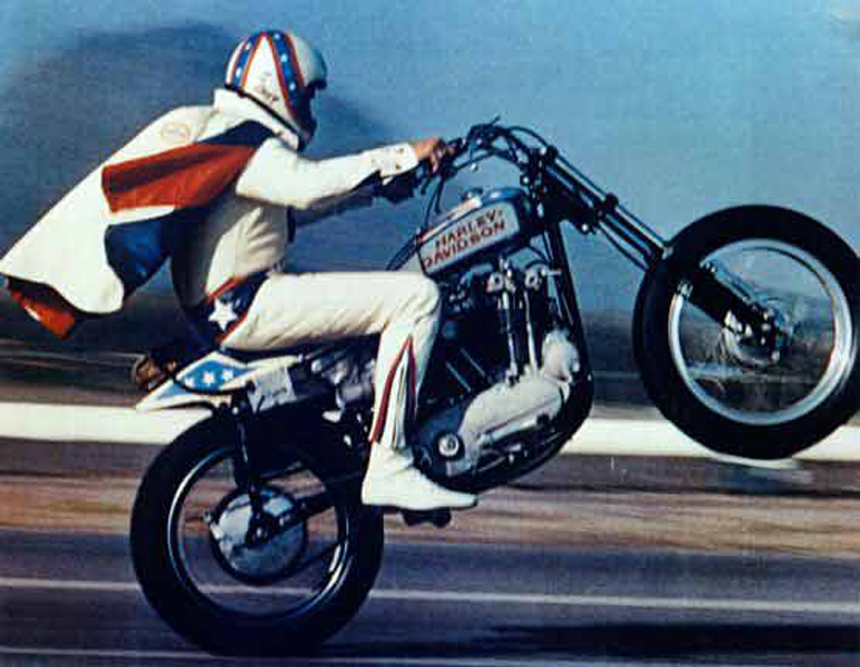 A still from Being Evel