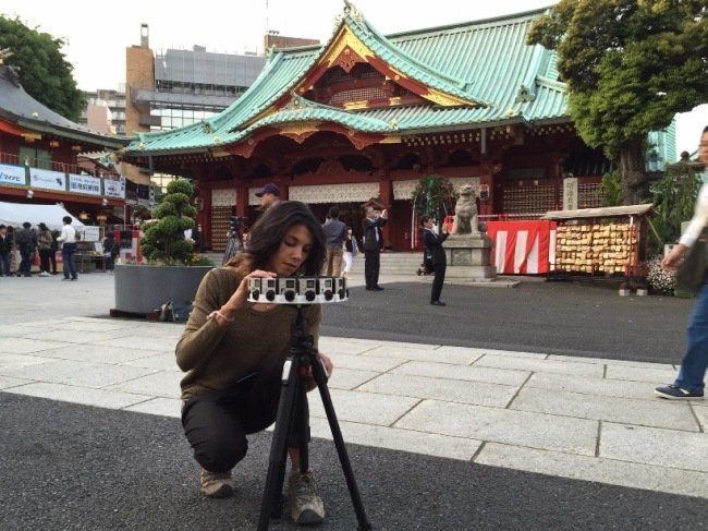 """For her VR project """"World Tour,"""" Jessica Brillhart captured life in Japan, amongst other countries. Photograph by Nick Kadner"""