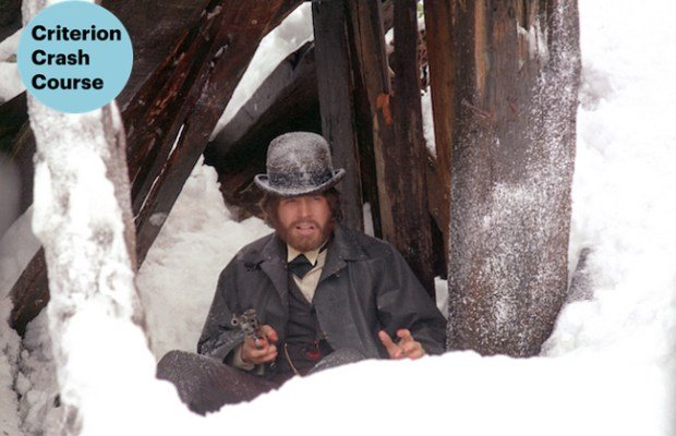 Warren Beatty as the reluctant gunslinger McCabe in Altman's masterpiece McCabe & Mrs. Miller