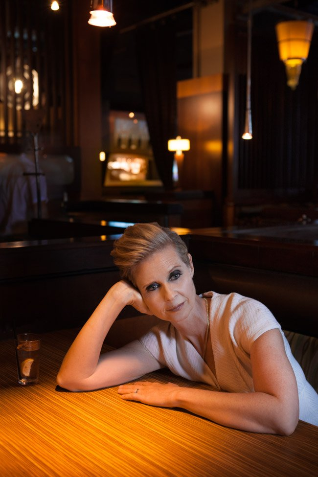 Cynthia Nixon, star of A Quiet Passion (directed by Terence Davies)