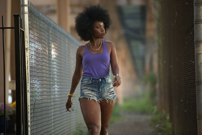 Teyonah Parris in Chi-Raq. Courtesy of Roadside Attractions and Amazon Pictures