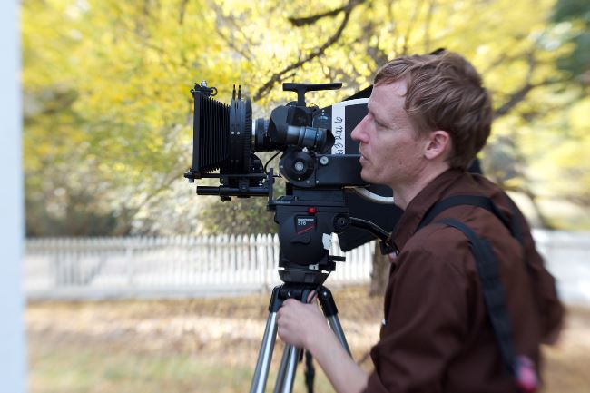 How the Fire Fell DP Scott Ballard shoots on the Eclair ACL II