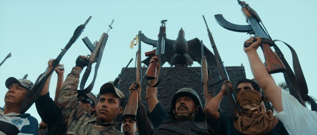 In Cartel Land, the threat of violence and warfare is everpresent