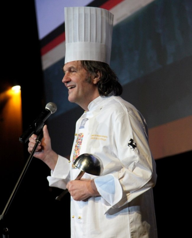 Emir Kusturica, founder and director of