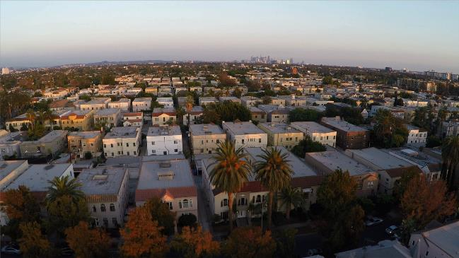 Drone photography over Los Angeles, by DP Jerry Henry
