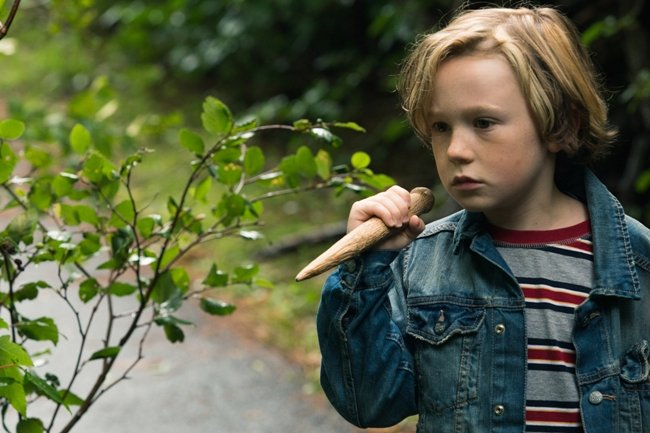 Jack Fulton as the young Oscar in Closet Monster