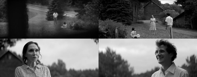Stills from the opening scene of Eyes of My Mother