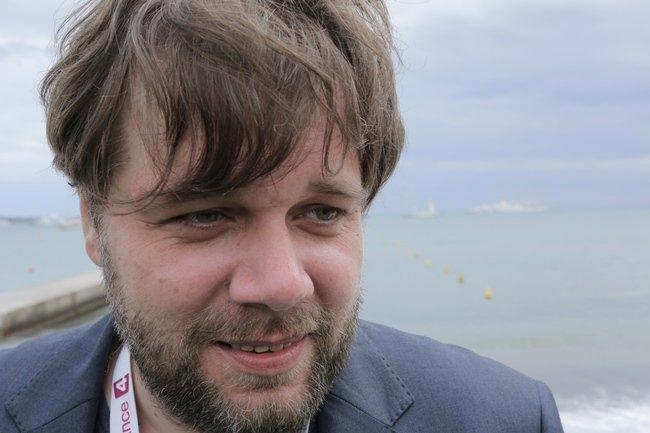 The Tribe director Myroslav Slaboshpytskiy