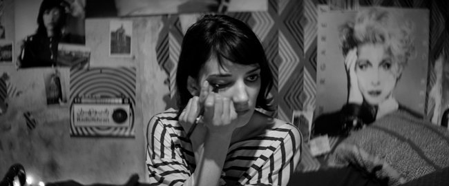 Sheila Vand stars as the Girl in A Girl Walks Home Alone at Night