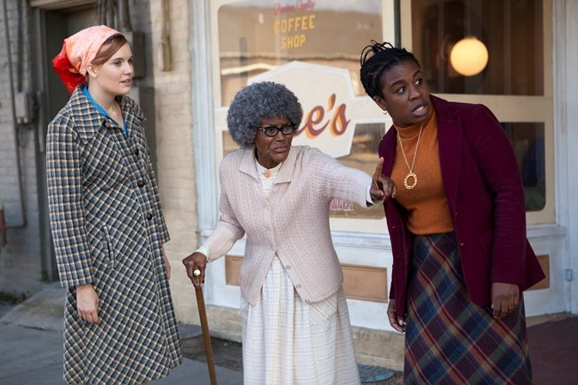 Set in 1977 and filmed in Baton Rouge, indie drama Showing Roots stars Maggie Grace, Cicely Tyson and Uzo Aduba Credit: Photograph by Joshua Stringer