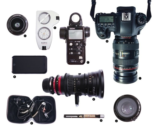Cinematographer Matt Egan reveals the essentials he brings with him on a shoot.