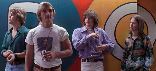 Dazed and Confused (1993) featured a large ensemble cast