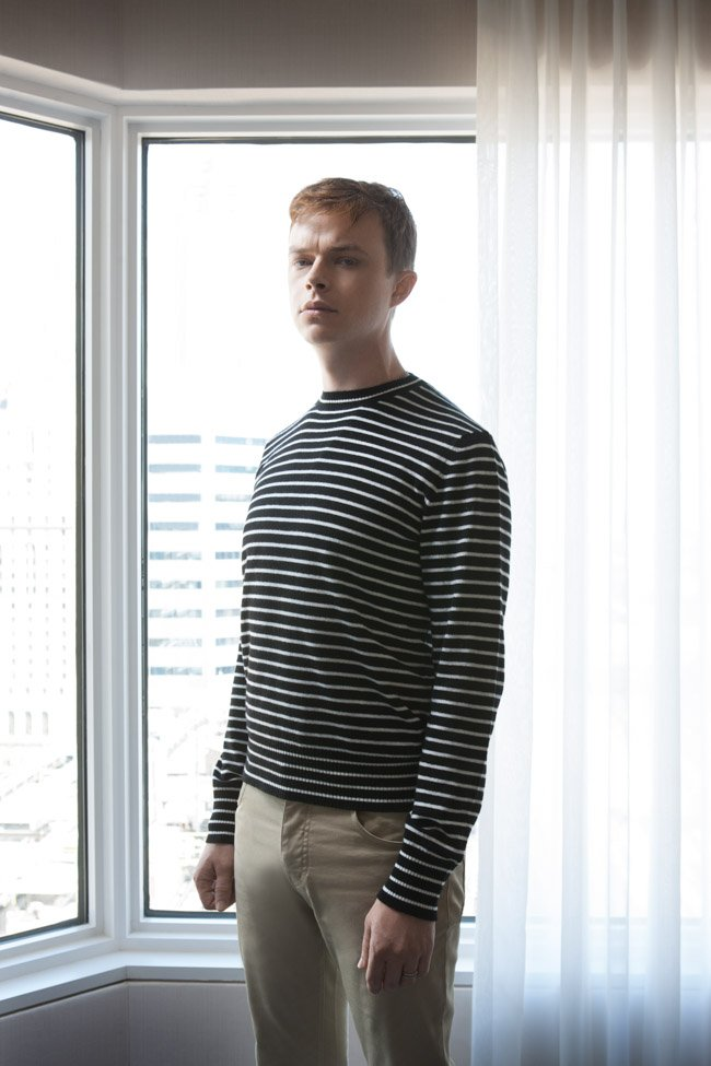 Dane DeHaan, star of Two Lovers And a Bear (directed by Kim Nguyen)