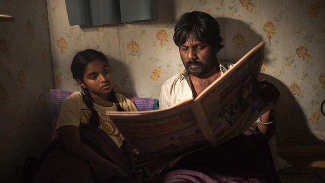Claudine Vinasithamby and Jesuthasan Antonythasan in Jacques Audiard's Dheepan