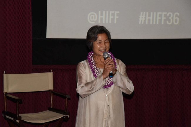 Cheng Pei Pei at the 50th anniversary of Come Drink With Me