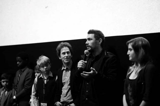 James Franco and Tim Blake Nelson give a Q&A at the Oxford Film Festival. Photograph by Danny K Photography