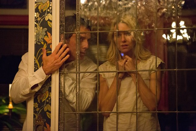 Josh (Ben Stiller) and Cornelia (Naomi Watts) at an unusual party in While We're Young
