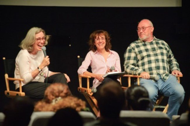 (Left to right) Carol Littleton, Bobbie O'Steen and Jerry Greenberg