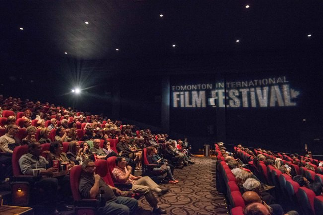 A full house assembles at the Edmonton International Film Festival, fall 2015 Credit: Courtesy of the Edmonton International Film Festival