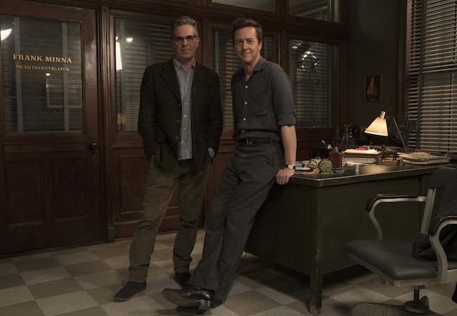 Edward Norton and Jonathan Lethem