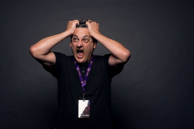The Blackout Experiments Director Rich Fox can't handle the madness!