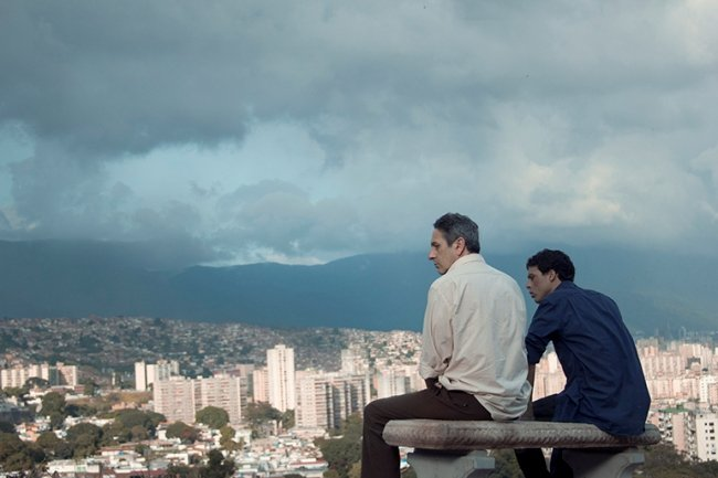 From Afar was shot on location in Caracas, Venezuela