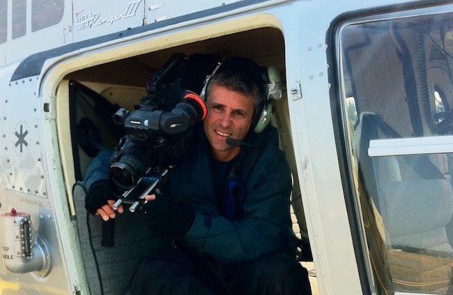 Cinematographer Nick Higgins
