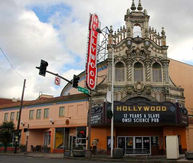 Portland's Hollywood Theatre. Photograph by John Keel