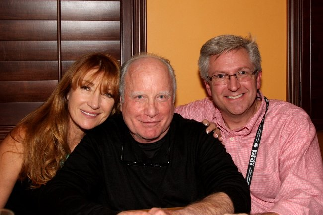 Beatrice Welles (daughter of Orson Welles), Richard Dreyfuss, and the Director of the Sedona International Film Festival, Patrick Schweiss