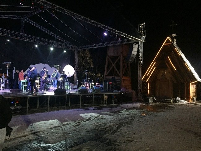 An opening night winter concert to kick off five days of cinema