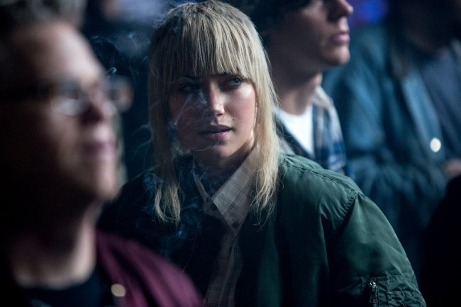 """Saulnier wanted his daughters to see Imogen Poots' character and think, """"Wow, there's a girl and she's kicking ass,"""" she said. """"That spoke volumes about him."""""""