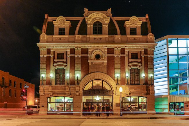 One of the venues. Courtesy of Digital Dubuque.